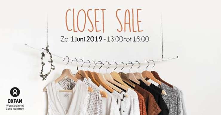 20190601 Closet Sale