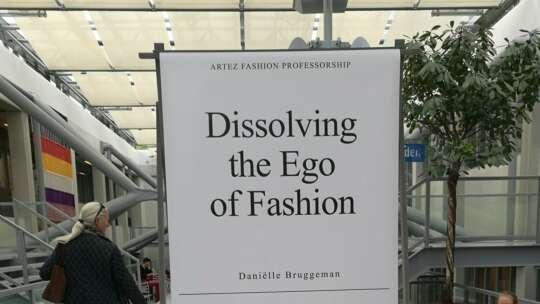 2020 Dissolving the ego of fashion