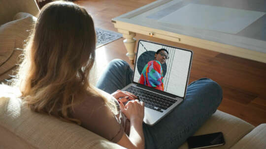 Modeshow op laptop2