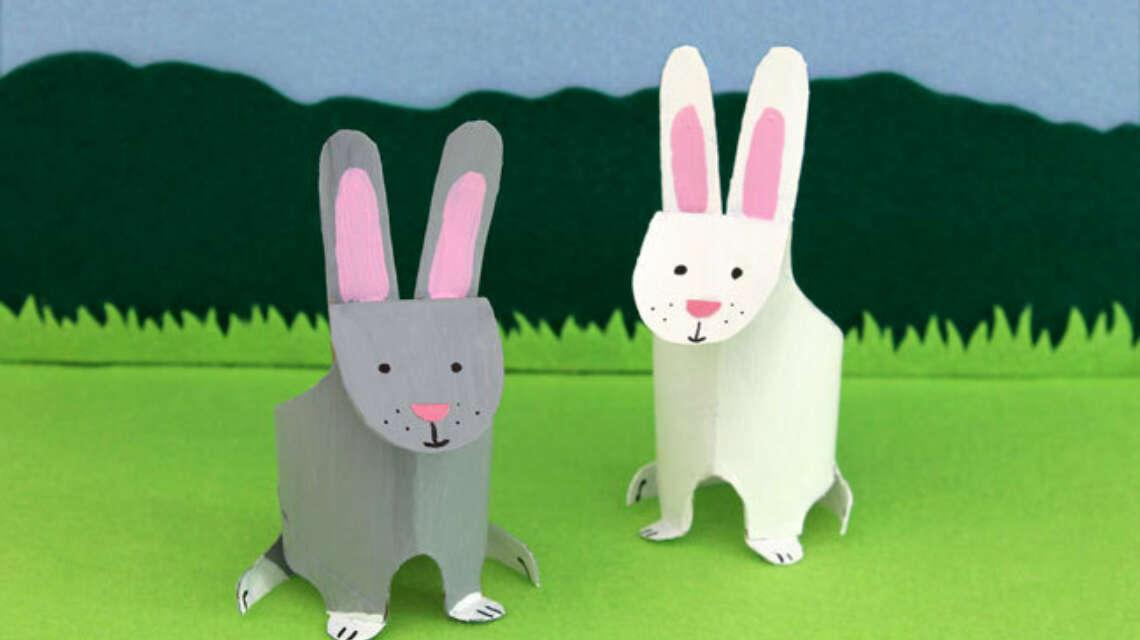 Paasartikel bunnies toilet rol
